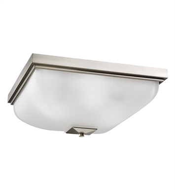 Kichler 7011NI Flush Mount 4 Light in Brushed Nickel