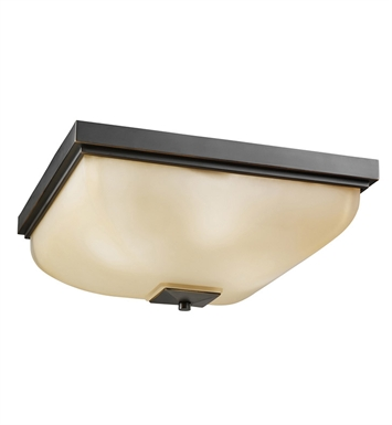 Kichler 7011OZ Flush Mount 4 Light in Olde Bronze