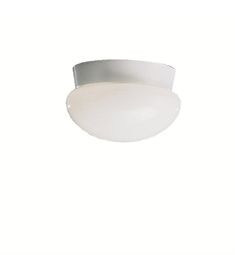 Kichler Ceiling Space Collection Flush Mount 1 Light in White