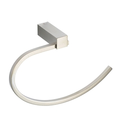 Fresca FAC0425BN Ottimo Towel Ring in Brushed Nickel