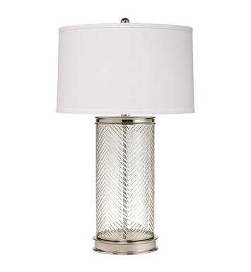 "Kichler 70869 Herringbone 1 Light 28"" High Table Lamp"