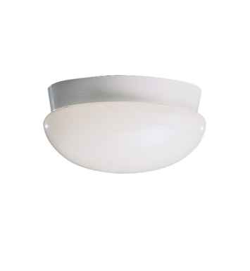 Kichler 8103WH Ceiling Space Collection Flush Mount 3 Light in White