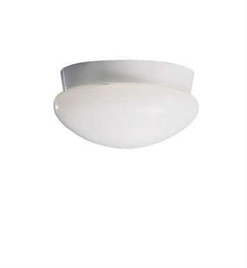 Kichler 8102WH Ceiling Space Collection Flush Mount 2 Light in White