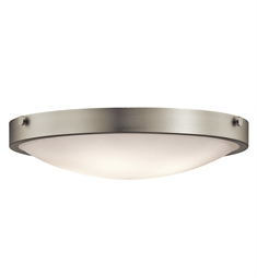 Kichler 42276NI Flush Mount 4 Light in Brushed Nickel