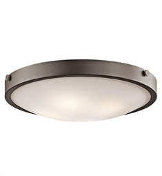 Kichler 42276OZ Flush Mount 4 Light in Olde Bronze