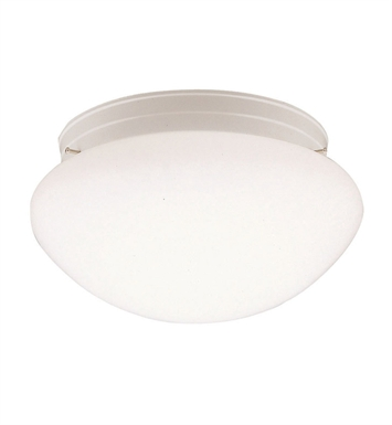 Kichler 210WH Ceiling Space Collection Flush Mount 2 Light in White