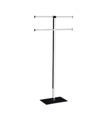 Nameeks RA31-14 Gedy Towel Stand With Finish: Black