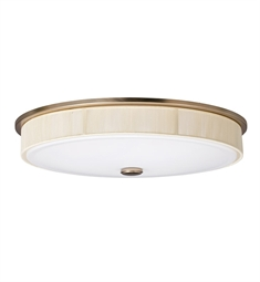 Kichler Santiago Collection Flush Mount 2 Light Fluorescent in Champagne