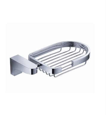 Fresca Generoso Soap Basket in Chrome