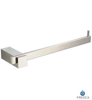 Fresca FAC1463BN Ellite Towel Ring in Brushed Nickel