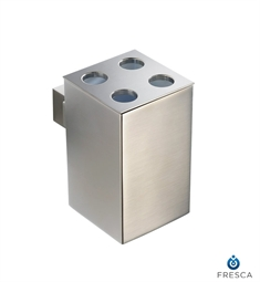 Fresca Ellite Toothbrush Holder in Brushed Nickel