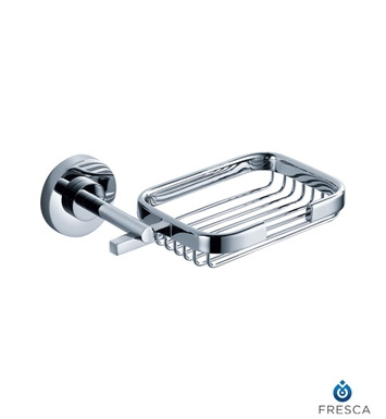Fresca FAC0809 Alzato Soap Basket in Chrome
