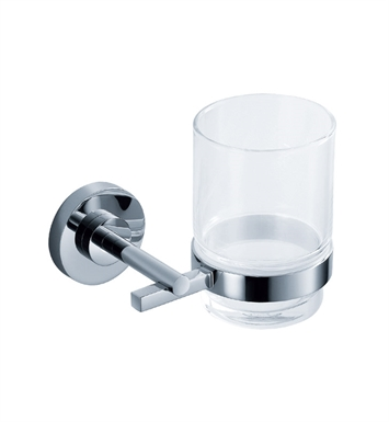 Fresca FAC0810 Alzato Tumbler Holder in Chrome