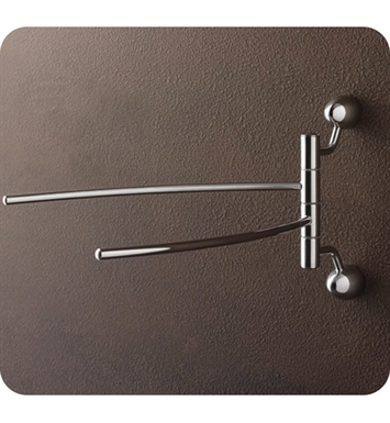 Nameeks 9019-BIS Toscanaluce Swivel Towel Bar 9019 BIS