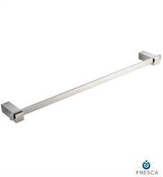 "Fresca Ellite 24"" Towel Bar in Brushed Nickel"