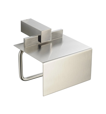 Fresca FAC1426BN Ellite Toilet Paper Holder in Brushed Nickel
