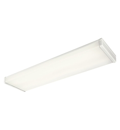 Kichler Ceiling Linear 4 Light Fluorescent in White