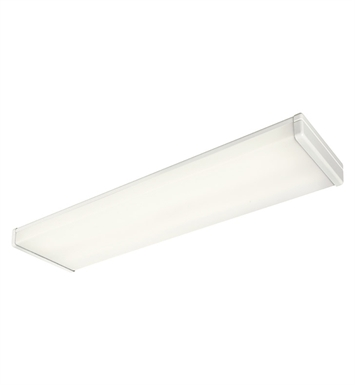 Kichler 10323WH Ceiling Linear 4 Light Fluorescent in White