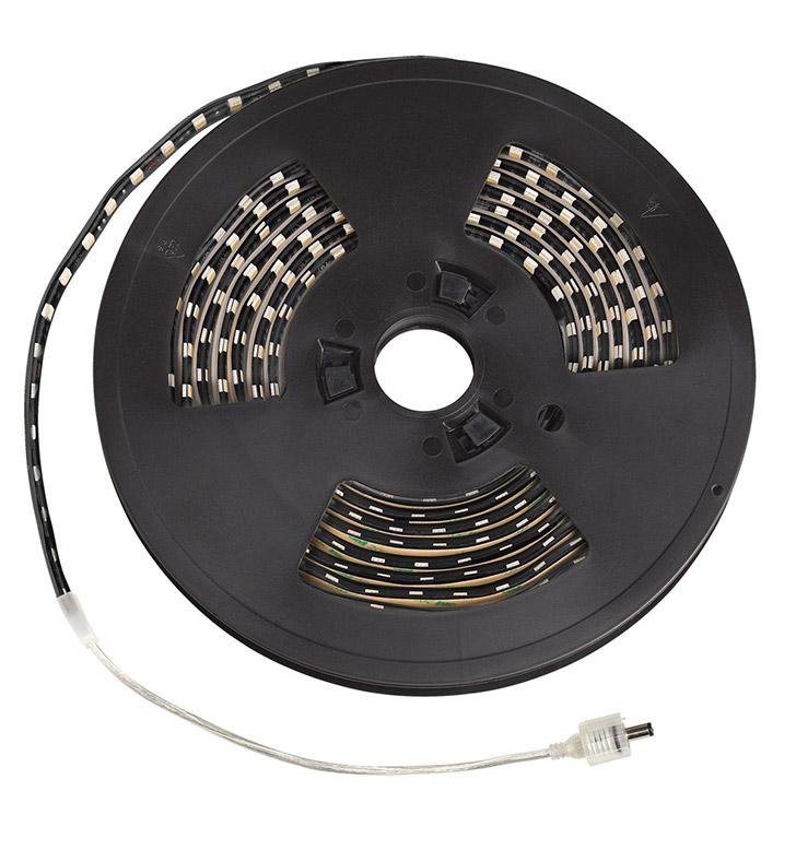 Outdoor Led Light Tape: Kichler 320H36BK Outdoor LED Tape Light In Black Finish