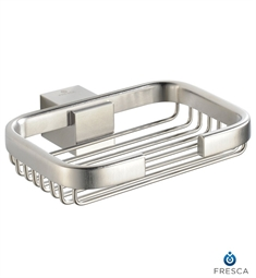Fresca Ellite Soap Basket in Brushed Nickel