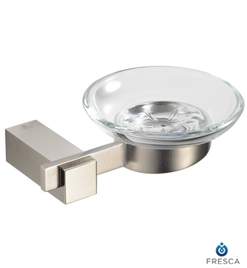 Fresca FAC1403BN Ellite Soap Dish in Brushed Nickel