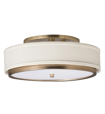 Kichler Flush Mount 1 Light Fluorescent in Champagne