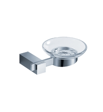 Fresca FAC1403 Ellite Soap Dish in Chrome