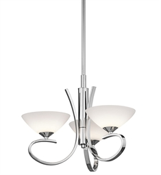 Kichler Brooklands Collection Convertible 3 Light Halogen in Chrome