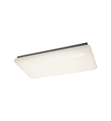 Kichler 10303WH Ceiling Mount 4 Light Fluorescent in White