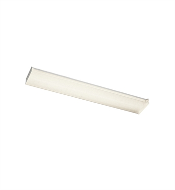 Kichler 10315WH Ceiling Mount 2 Light Wrap Fluoresce in White