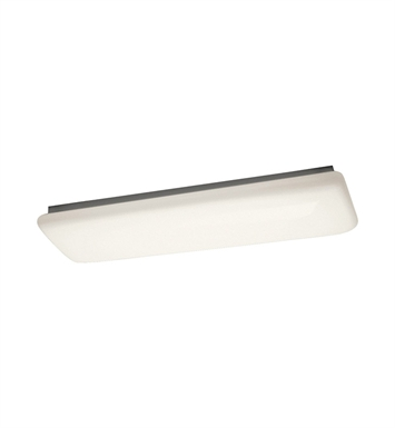 Kichler 10301WH Ceiling Mount 2 Light Fluorescent in White