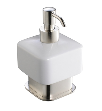 Fresca FAC1361BN Solido Lotion Dispenser (Free Standing) in Brushed Nickel