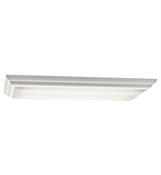 Kichler Flush Mount 4 Light Fluorescent in White