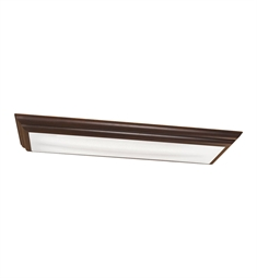 Kichler Chella Collection Linear Ceiling Mount 4 Light Fluorescent in Olde Bronze