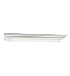 Kichler Flush Mount 2 Light Fluorescent in White