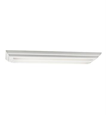 Kichler 10308WH Flush Mount 2 Light Fluorescent in White
