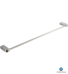 "Fresca Solido 24"" Towel Bar in Brushed Nickel"