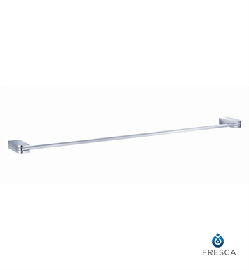 "Fresca FAC1337 Solido 24"" Towel Bar in Chrome"