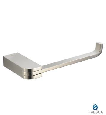 Fresca FAC1329BN Solido Toilet Paper Holder in Brushed Nickel