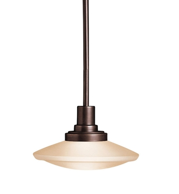 Kichler 2655OZ Structures Collection Semi Flush-Pendant 1 Light Halogen in Olde Bronze