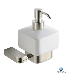 Fresca Solido Lotion Dispenser (Wall Mount) in Brushed Nickel
