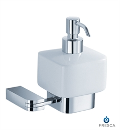 Fresca Solido Lotion Dispenser (Wall Mount) in Chrome