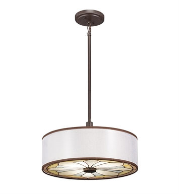 Kichler 65388 Semi Flush-Pendant 3 Light in Olde Bronze