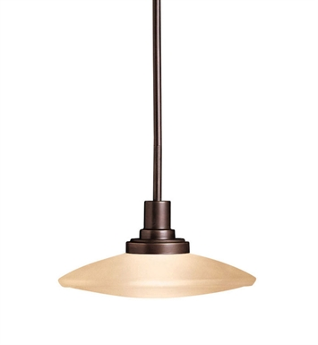 Kichler 2652OZ Structures Collection Semi Flush-Pendant 1 Light Halogen in Olde Bronze