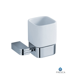 Fresca Solido Tumbler Holder in Chrome