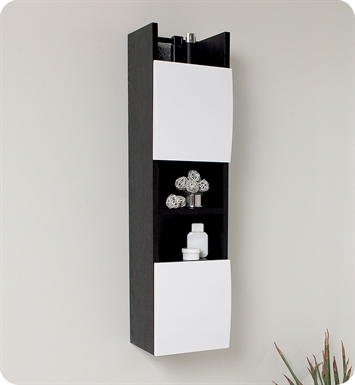 Fresca FST2020WG Bathroom Linen Cabinet with 3 Open Shelves