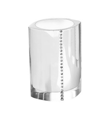 Nameeks 7498-SL Gedy Toothbrush Holder With Finish: Silver
