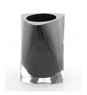 Nameeks 4698-14 Gedy Toothbrush Holder With Finish: Black