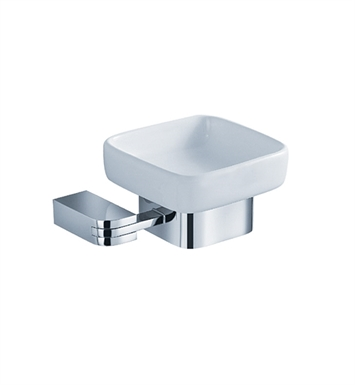 Fresca FAC1308 Solido Soap Dish in Chrome
