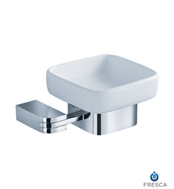 Fresca Solido Soap Dish in Chrome